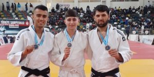Diyarbakırlı judoculardan üç madalya