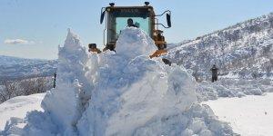 Bingöl'de 197 köy yolunun açılması için çalışmalar sürüyor