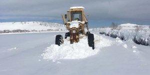 Mardin'de kar nedeni ile kapanan yollar ulaşıma açıldı