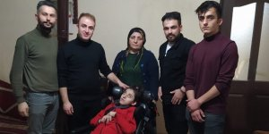 Hakkarili Elvan'a engelli puset desteği