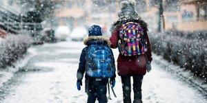 Siirt'in Pervari ilçesinde okullar tatil edildi