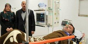 Çığ faciasından ilk kurtulan kepçe operatörü Ankara'ya sevk edildi