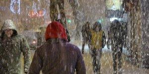 Van'da kar yağışı hayatı olumsuz etkiledi