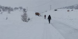 Tunceli'de 176 köy yolu ulaşıma kapandı