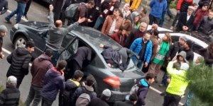 VİDEO - Diyarbakır'da korkunç kaza