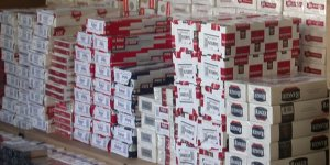 Siirt'te 8 bin 600 paket kaçak sigara ele geçirildi