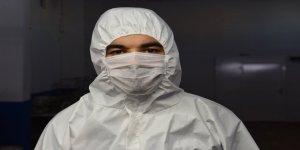 """Şanlıurfalı girişimci """"antibakteriyel tulum"""" üretiyor"""