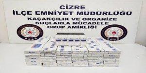 Şırnak'ta kaçakçılık operasyonları: 2 tutuklama