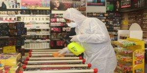 Van'daki marketlerden 'korona virüsü' önlemi