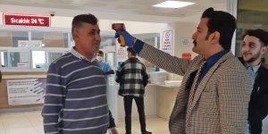 Diyarbakır adliyesinde koronavirüs önlemleri