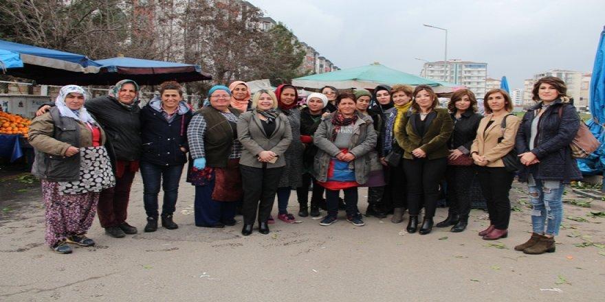 Semt pazarı sorunu için DTSO kadın meclisi devreye girdi!
