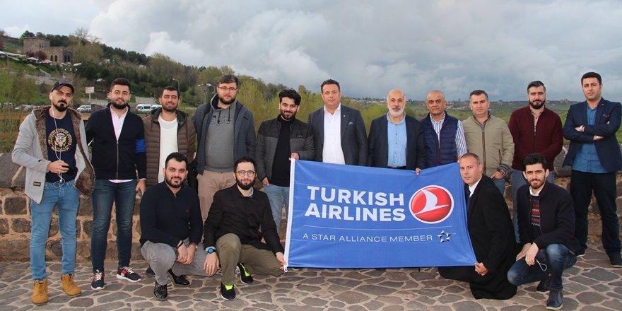 Diyarbakır'a hayran kaldılar!