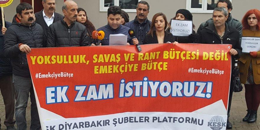 KESK Diyarbakır şubesinden açıklama