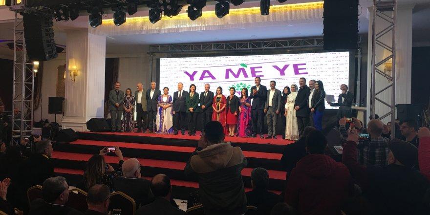 HDP adaylarını Diyarbakır'da tanıttı
