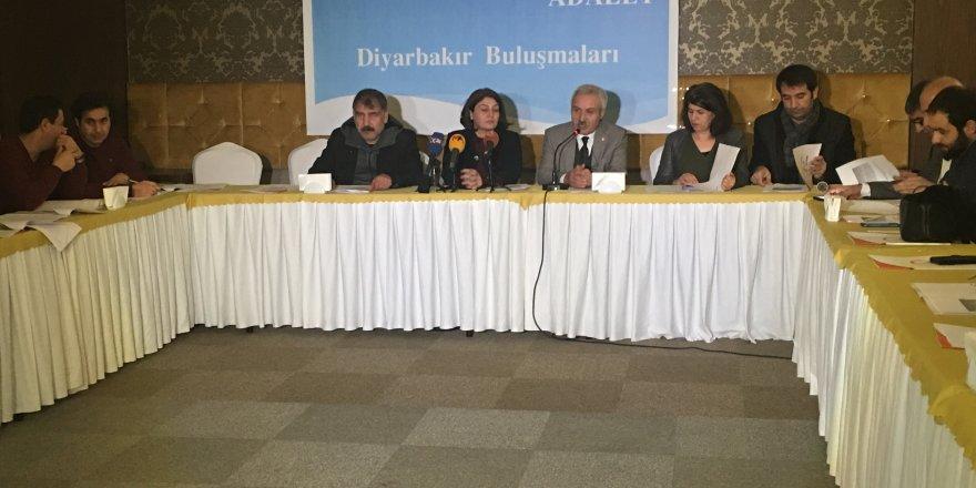HDP Diyarbakır adayları STK temsilcileri ile buluştu