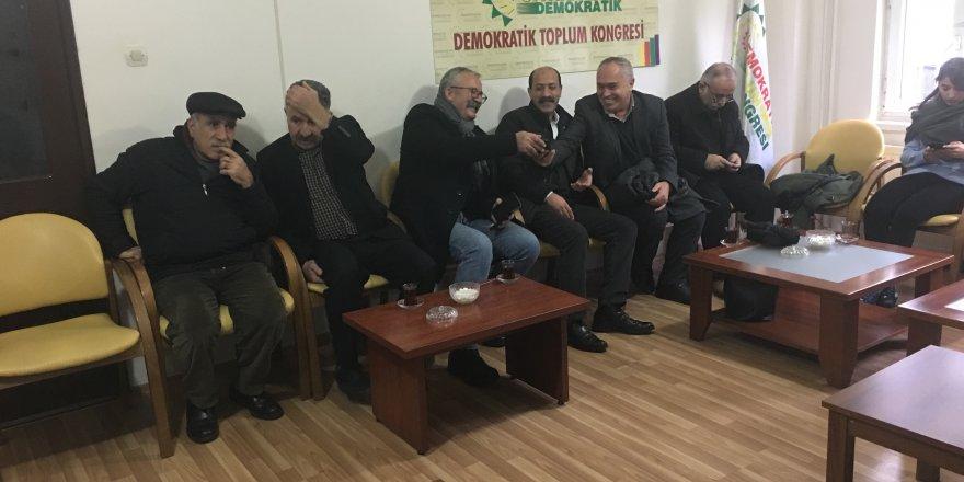Diyarbakır'da Leyla Güven için nöbet