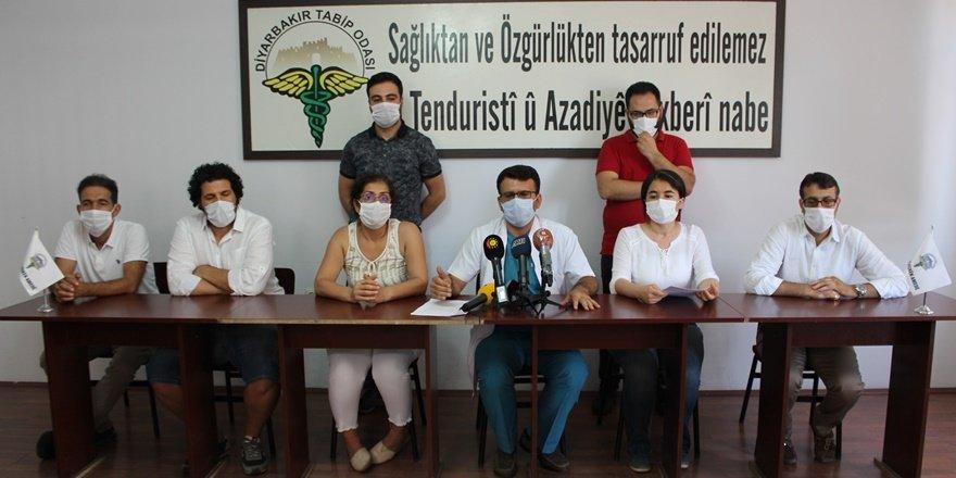 Diyarbakır'da hastanelerde 600 vaka var