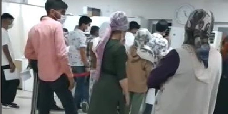 Diyarbakır'da bir hastanede korona virüse davetiye