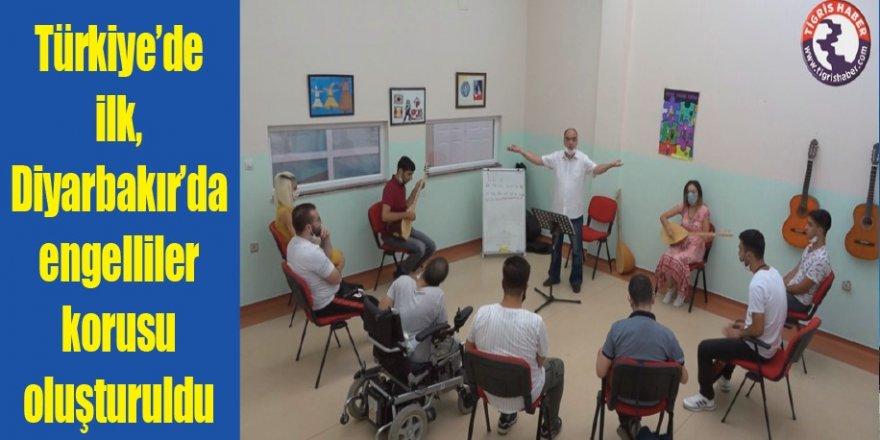 Türkiye'de ilk, Diyarbakır'da engelliler korusu oluşturuldu