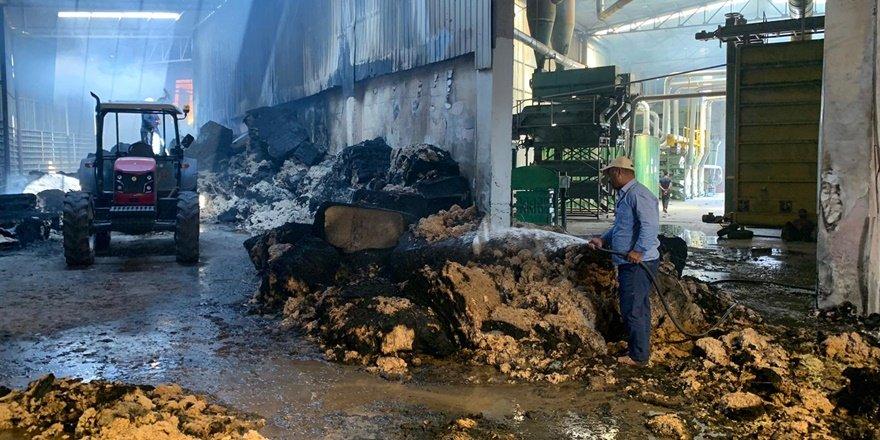 Diyarbakır'da fabrikada yangın çıktı