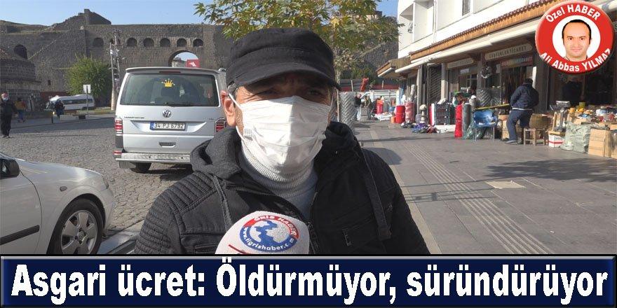 Diyarbakırlı vatandaşların asgari ücret yorumu: Öldürmüyor, süründürüyor