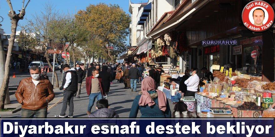 Diyarbakır esnafı destek bekliyor