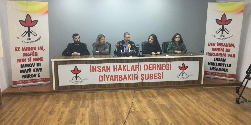 İHD Diyarbakır şubesi açıklama