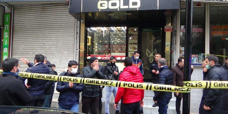 Diyarbakır'da kuyumcu soygunu girişimi: 1 ölü