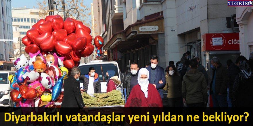 Diyarbakırlı vatandaşlar yeni yıldan ne bekliyor?