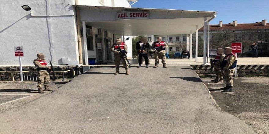 İzmir'de yakalanan örgüt mensubu Diyarbakır'a sevk edildi