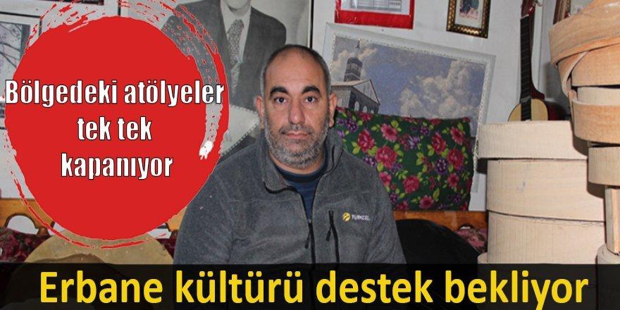 Erbane kültürü destek bekliyor