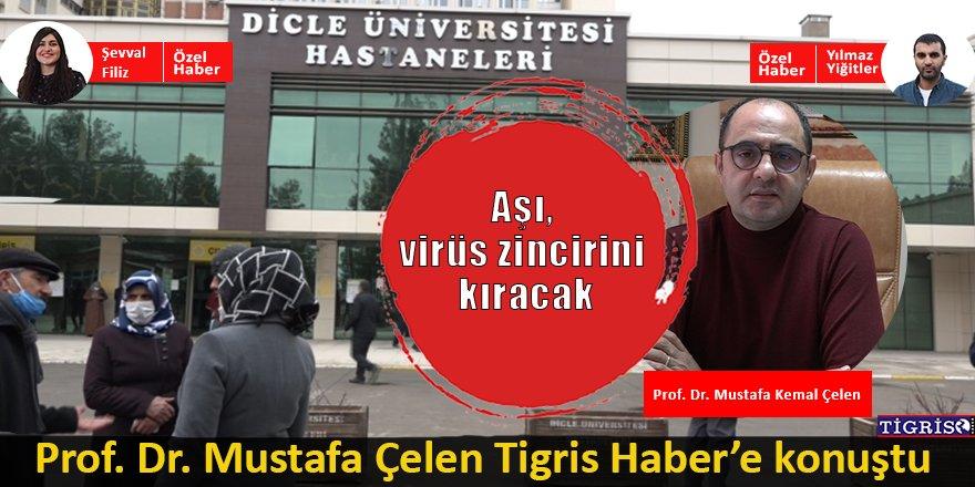 Prof. Dr. Çelen: Aşı, virüs zincirini kıracak